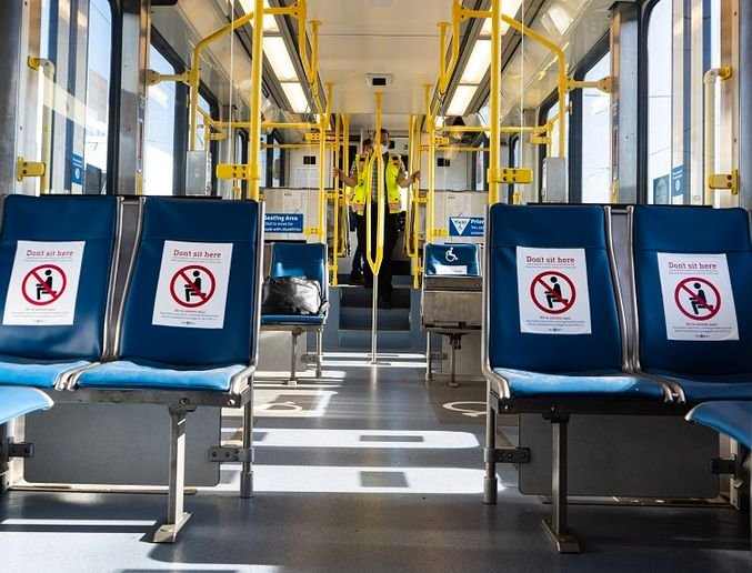 To supplement their cleaning efforts, TriMet purchased 36 CURIS System fogging machines to disinfect its vehicles. - TriMet