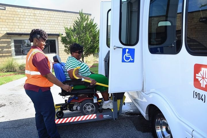 Because the agency's paratransit service, Connexion, focuses on providing shared rides, JTA has also implemented social distancing protocols to limit vehicle capacity. - JTA