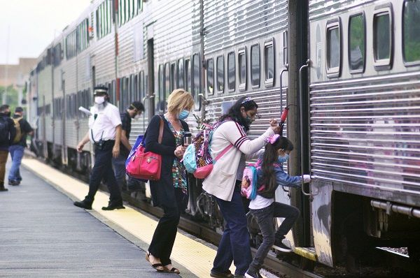 Metra serves millions of Chicagoland riders each year, although the recent pandemic required the commuter rail system to quickly adapt to new standards. - Metra