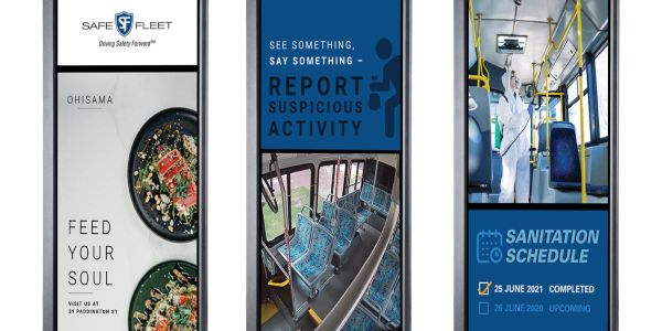 : An Infotainment/Public Display Monitor system provides an improved ride experience and...