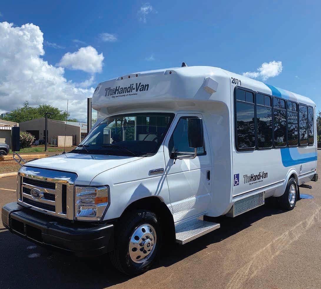 Paratransit on an Island: Oahu Transit Rolls with LiquidSpring