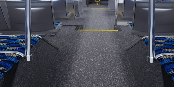 Durability and value remain key concerns for transits when specing flooring for their vehicles.