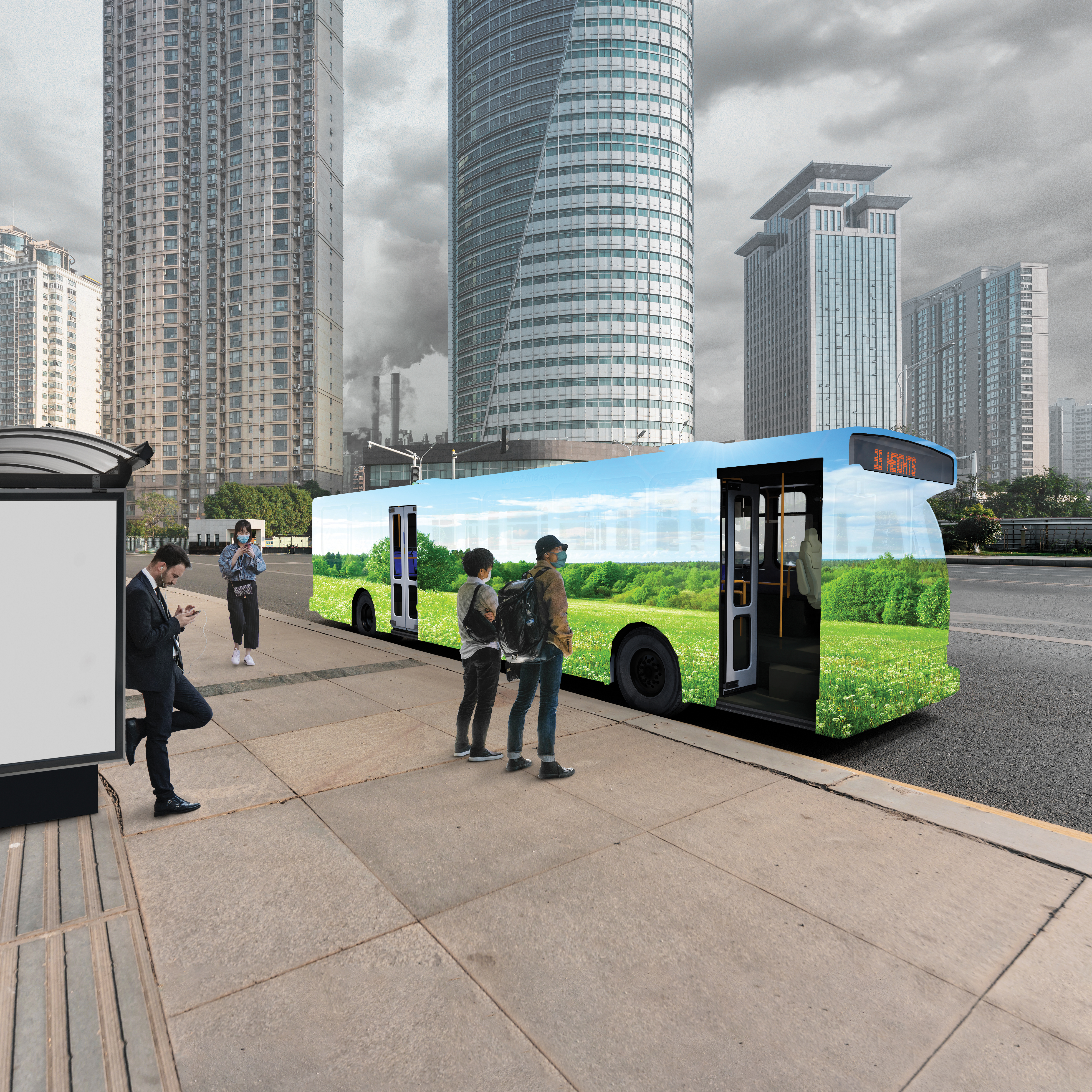 The Need for an Indoor Air Quality Solution for Transit Buses: Restoring Confidence to Help Increase Ridership