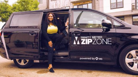 Trinity Metro's ZIPZONE on-demand rideshare program is proving to be a successful option for...