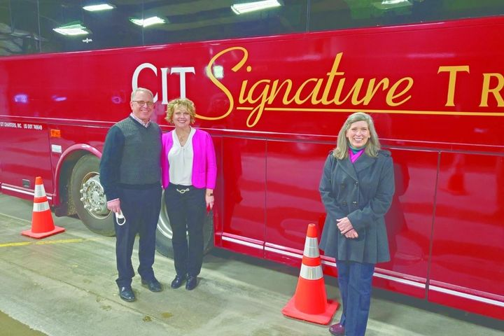 At CIT Signature Transportation, every non-essential cost was cut, and the team worked together to ensure buses still got where they needed to go. - Photo:CIT Signature Transportation