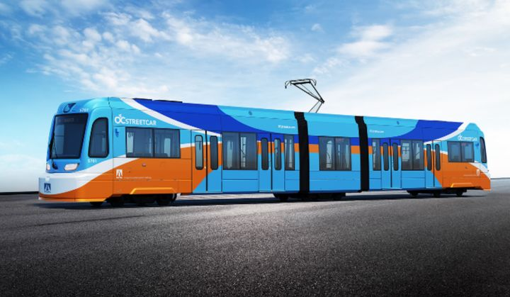 In addition to working on a transition to zero-emissions vehicles, the agency is also constructing a new streetcar system. - OCTA