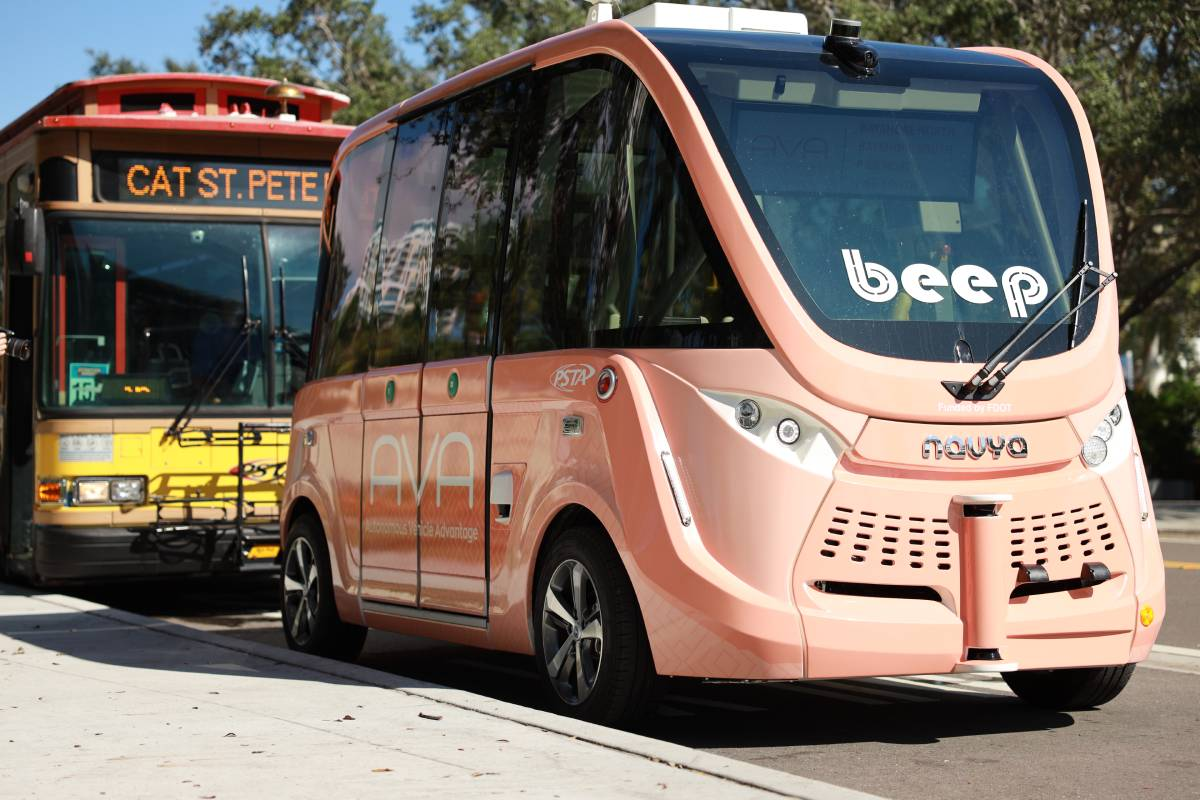 Autonomous Vehicles in Public Transit Today…and in the Future