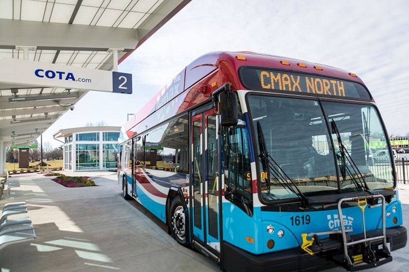 COTA promotes safety and social distancing on its new service by limiting passengers, increasing...