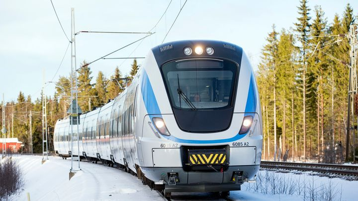 Coradia Nordic X60B in Northern Sweden. - Alstom