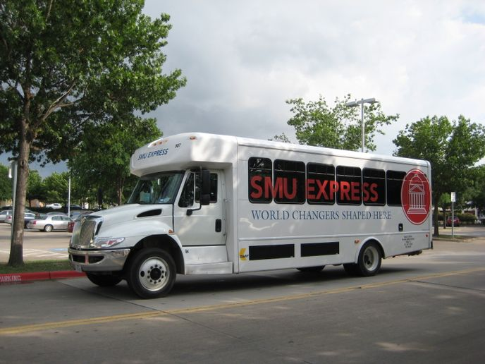SMU Express is one of DART's highest shuttle ridership performers at an average daily passenger ridership of 871. - DART