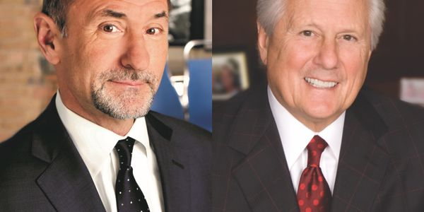 Tom Bush (left) and Ed Clark.