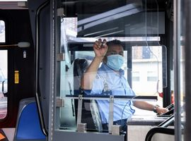The Department of Buses Engineering Department worked with manufacturers to develop these specific and immediate solutions to protect heroic frontline employees.