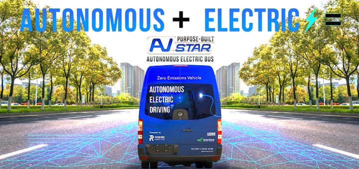Perrone Robotics is currently integrating the autonomous components and, once complete, will deliver the vehicle to Fla.'s JTA. - GreenPower