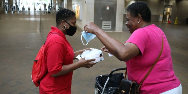 MARTA will deploy staff and volunteers to hand out as many as two million disposable masks at...