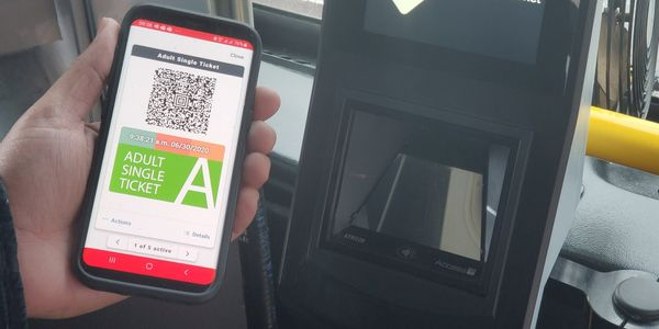 As part of the project, over 1,000 new validation devices have been installed across the bus...