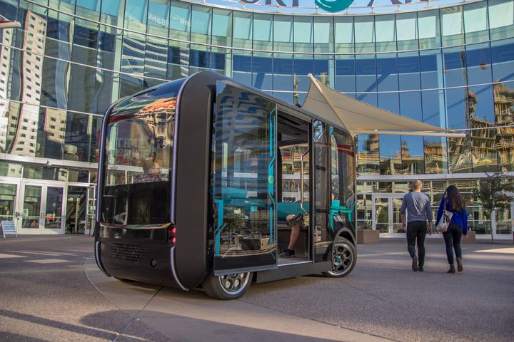 Local Motors is the world's first and only digital manufacturer, and its autonomous, electric, 3D-printed shuttle, Olli, is currently deployed at universities, business parks, and local communities. - Local Motors