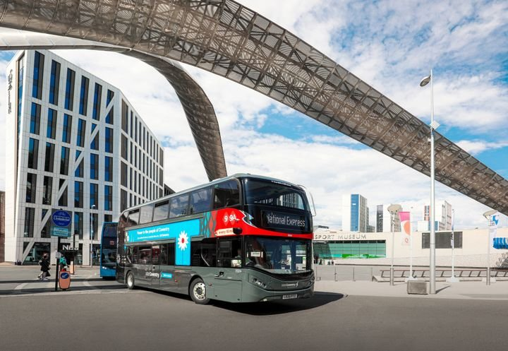 Following the operator's pledge to never buy another diesel bus, ADL has supplied another 10 zero-emission double-deck buses to British transport group National Express. - ADL/BYD