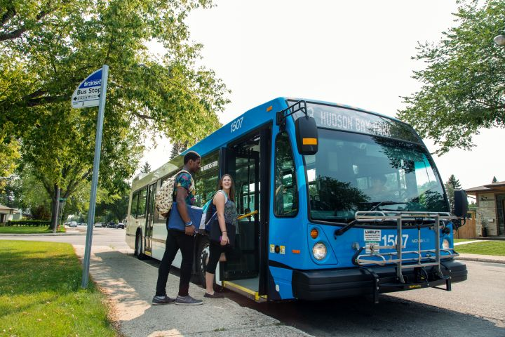 Riders will be able to pre-purchase tickets and passes from their phones or add money to their new stored value accounts and simply tap their mobile or smartcard on the validator when boarding the bus. - Saskatoon Transit