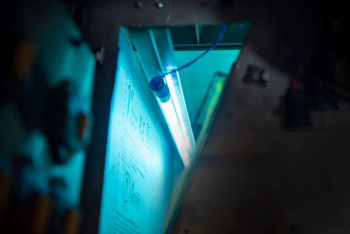 The UV Lighting system mounts inside the ductwork and sanitizes air with UV light and does not produce pollution or use harmful chemicals. - NFI Parts