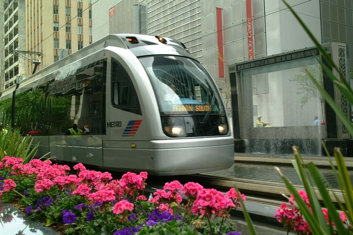 An AV shuttle will connect to Metro buses and light rail and be studied for potential use in urban, suburban, and rural environments. - Houston METRO