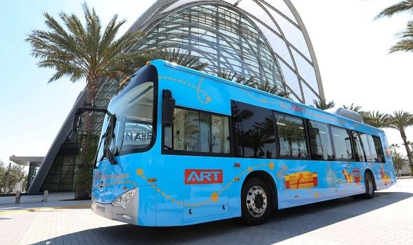 ATN estimates it will save $4.8 million in fuel costs over 20 years using AMPLY Power's electric bus charging solutions. - BYD