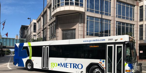 Each bus features rider-requested amenities like Wi-Fi, convenient on-board charging ports for...