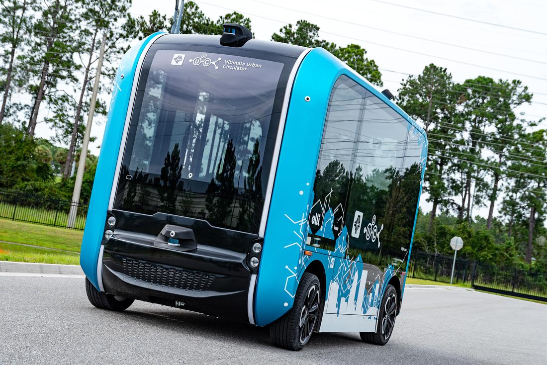 Jacksonville Transportation Authority Introduces Olli 2.0 AV Shuttle