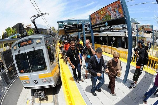 The pilot program will focus on understanding how people choose to travel around the county and region, and envision rewards for people taking transit and other alternatives to driving alone. - LA Metro