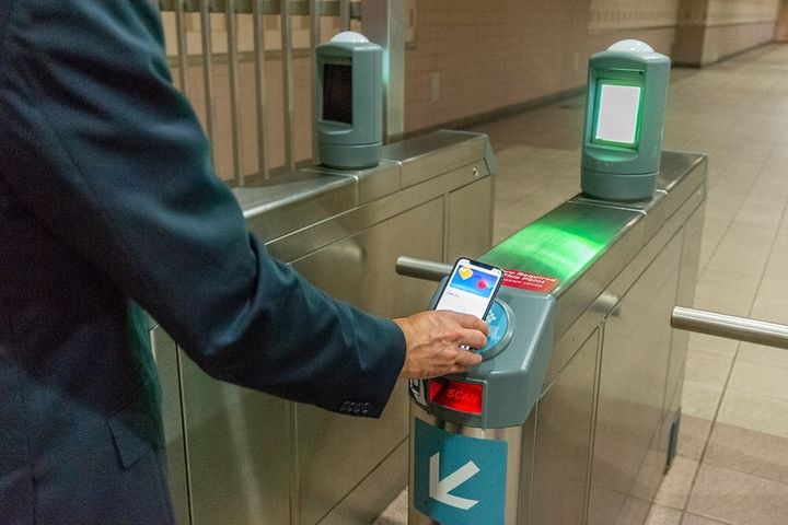 With TAP card on iPhone and Apple Watch, riders can now hold their device near the TAP dial upon boarding a bus or train and fare is validated immediately. - L.A. Metro