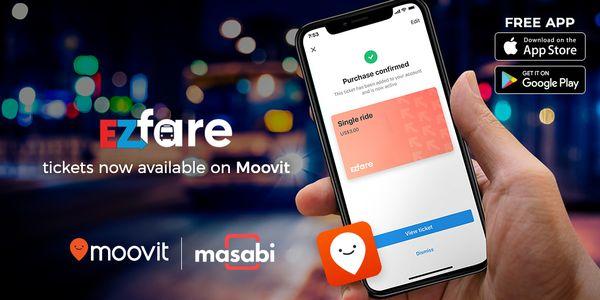 Moovit Partners with NEORide, Masabi