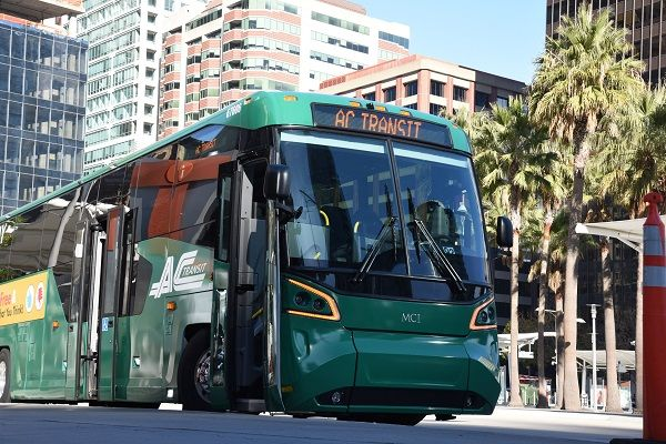 The plan outlines actions for onboard PPE,social distancing, filtered air, and protective shields for bus operators. - MCI