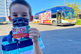 SacRT Extends Unlimited Free Service for Youth