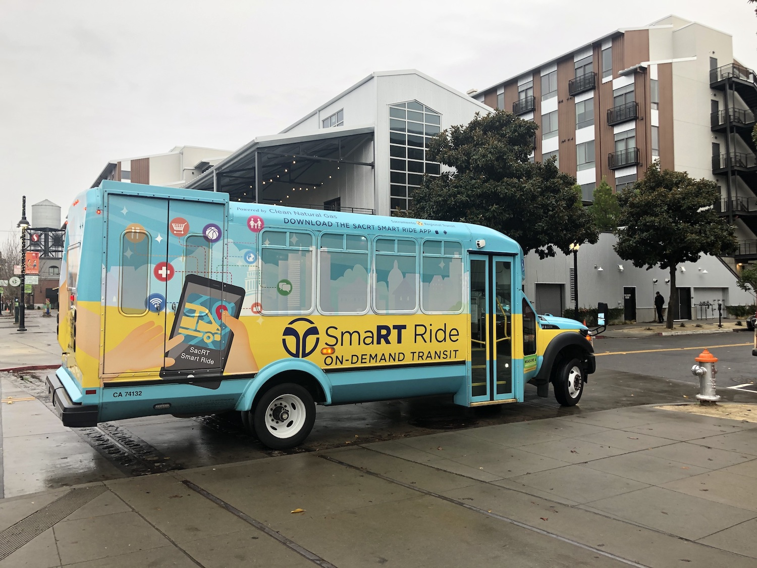 SacRT's Microtransit Service Among the Most Successful in the U.S.
