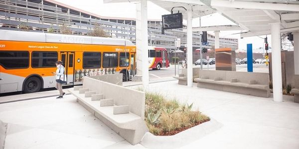 The transit pavilion will service riders on several Metro bus lines, including 68, 70, 71, 78,...