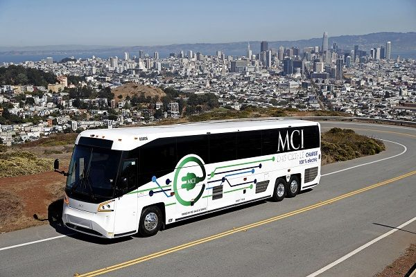 The D45 CRTe LE is one of three MCI models that have been approved for California's Hybrid and Zero-Emission Truck and Bus Voucher Incentive Project (HVIP). - MCI