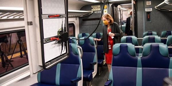MTA's Metro-North Railroad President Catherine Rinaldi and Chief Mechanical Officer James...