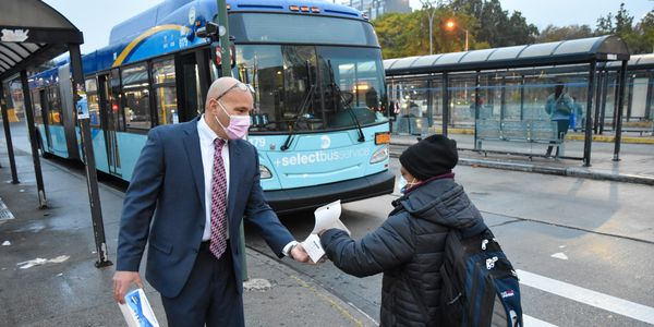 N.Y. MTA Announces Almost 15M Masks Distributed to Employees, Customers
