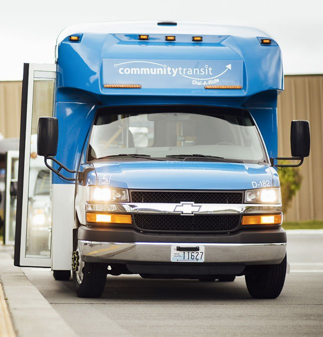 Transdev Lands Contract to Run Wash. Dial-A-Ride Service