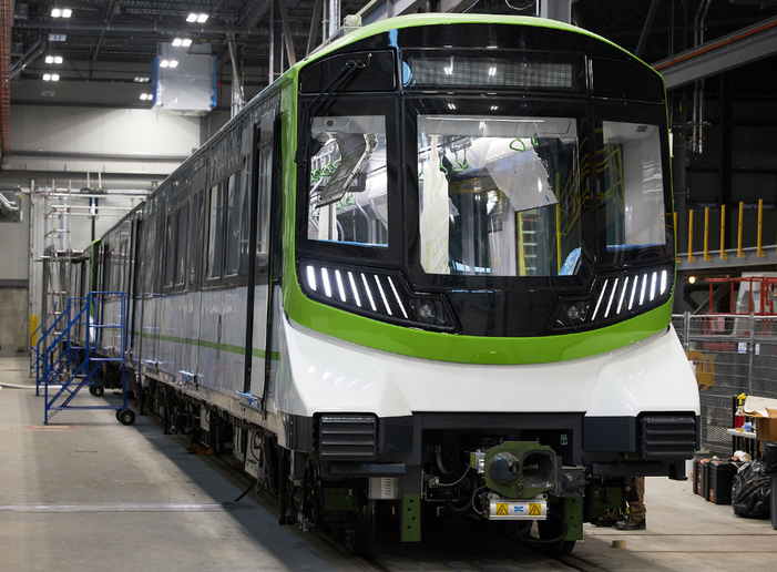 Alstom is supplying REM with not only 212 Metropolis cars, or 106 trains, but also Alstom's automated and driverless Urbalis 400 communication-based train control solution. - Alstom/C. Feury