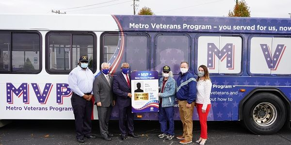 Once veterans and military personnel sign up for the Metro Veterans Program and provide valid...