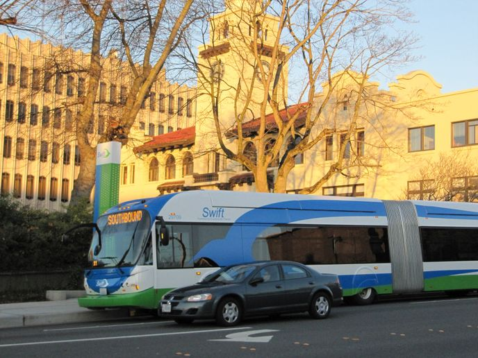 In 2024, Link light rail will reach Lynnwood and Community Transit will no longer run buses into Seattle. - Community Transit