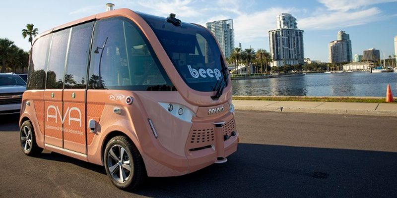 The agency's fare free electric shuttle, AVA, will begin serving the public on Nov. 25 until...