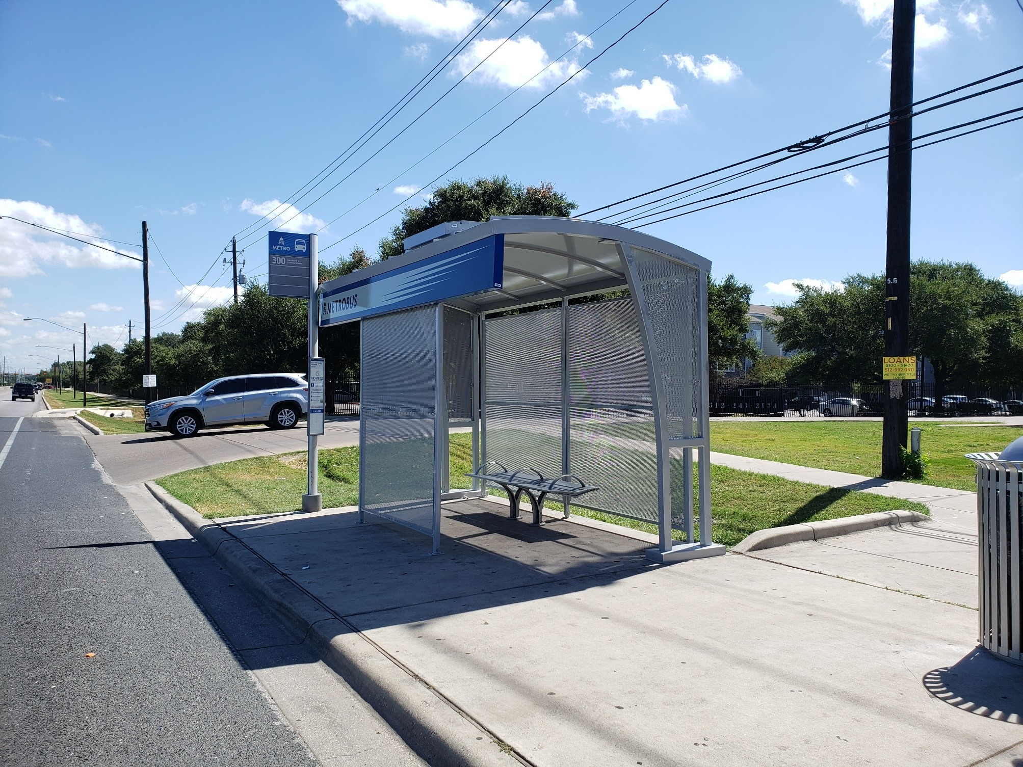 Tolar Lands CapMetro Bus Shelter Contract