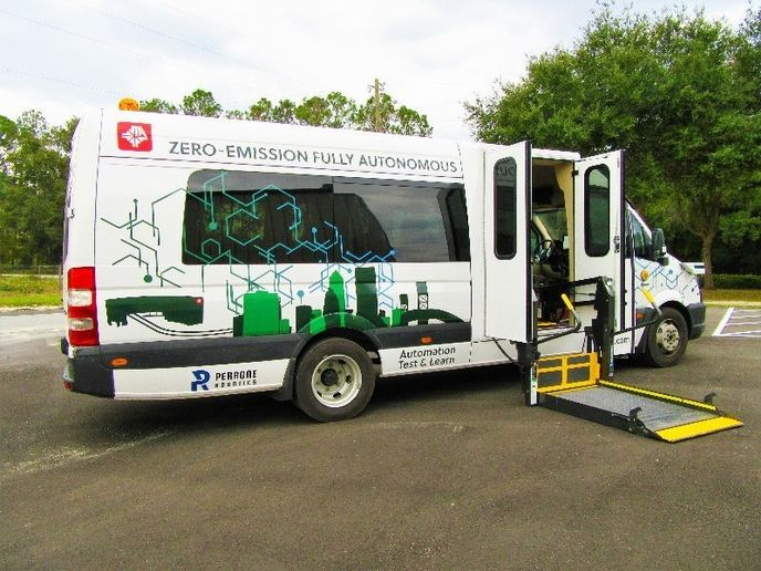 The JTA is currently working with local colleges, medical campuses, and other partners to create the nation's first public transportation network powered by autonomous vehicles. - GreenPower