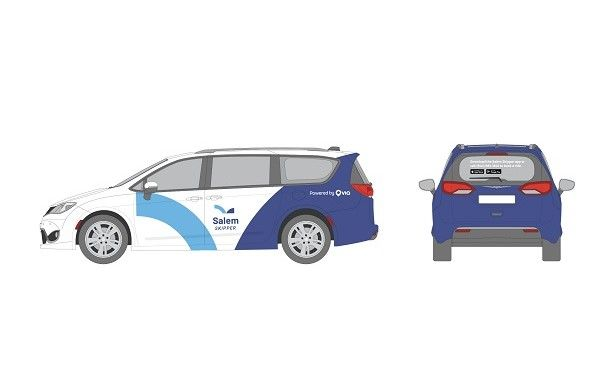 There will be four Salem Skipper vehicles in service, two Chrysler Pacificas and two Dodge Caravans that are wheelchair accessible. - Via