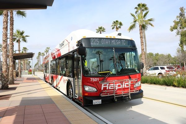 Under the six-year agreement, Transdev will operate 52 of 95 bus route services from MTS bus divisions in Chula Vista and El Cajon, using MTS buses and branding. - MTS