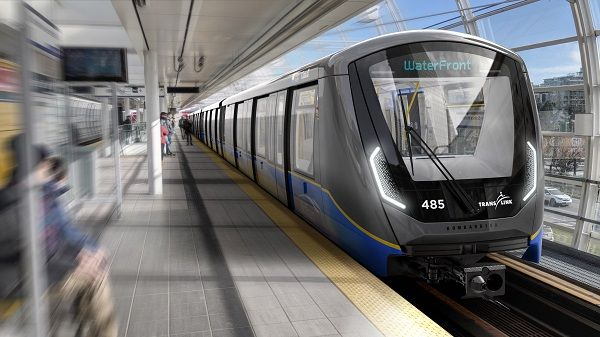 The $722.6 million contract includes 205 SkyTrain cars, which are set to be delivered by the end of 2027. - TransLink