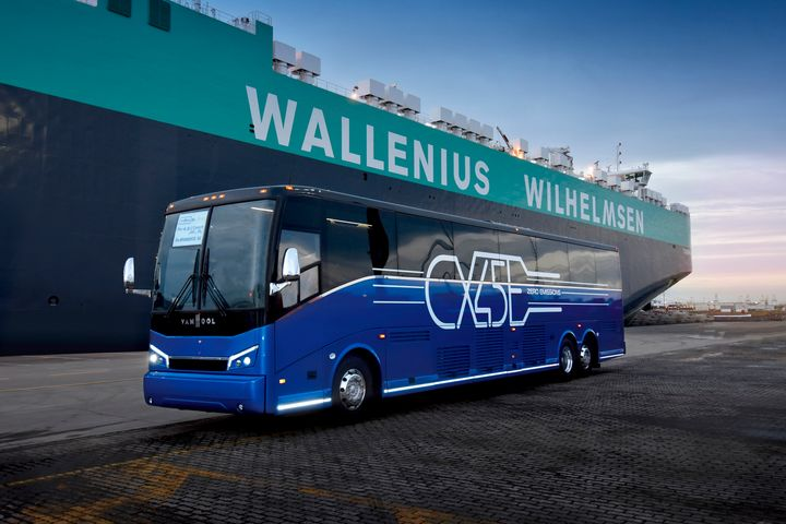 Proterra was selected by Van Hool to supply the E2 battery technology. - Van Hool