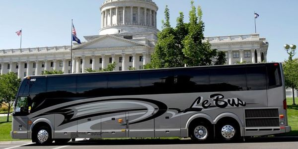 Le Bus has over 120 charter buses, servicing Utah and Wyoming.