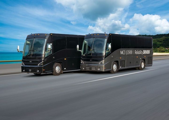 Coach Atlantic typically serves over 80% of the cruise ship, multi-day tour, and group charter markets. - MCI